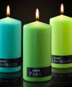 Simply Pillar Candles