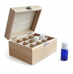 Wooden Oil Storage Boxes